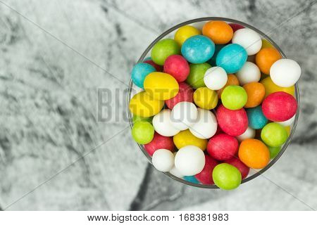 Colored Sweet Fruit Candies
