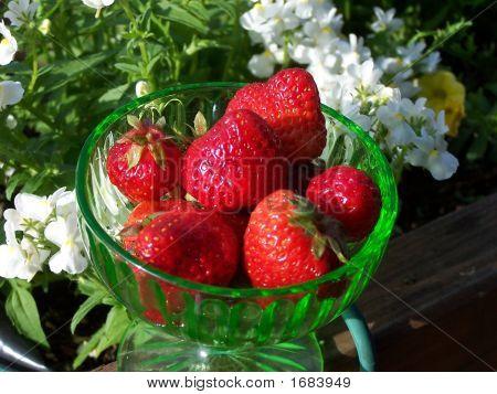 Strawberries In Goblet