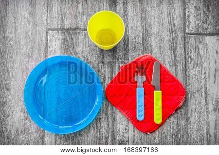 children cutlery colorful background silverware for babies