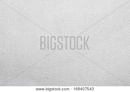 White structure of a knitted cotton fabric background