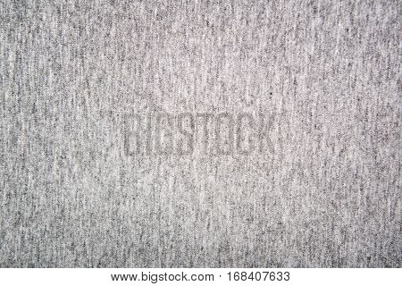 Gray structure of a knitted woolen fabric background