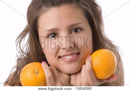 The Girl With Oranges