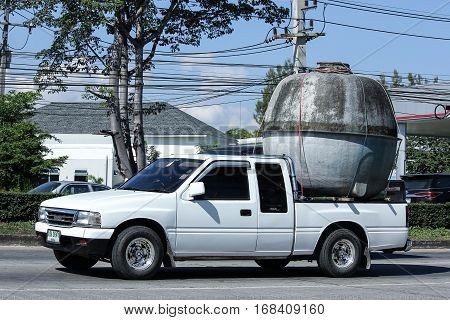 Private Isuzu Old Pickup Car.