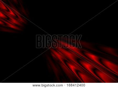 Red black stripes abstract motion background. Vector design template eps 10