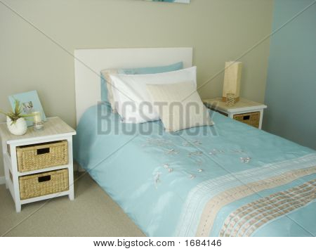 Fresh Blue Bedroom