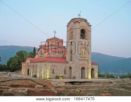 Church of St. Panteleimon Ohrid Republic of Macedonia.