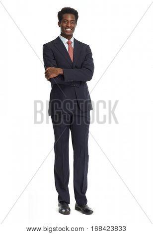 African-American businessman.