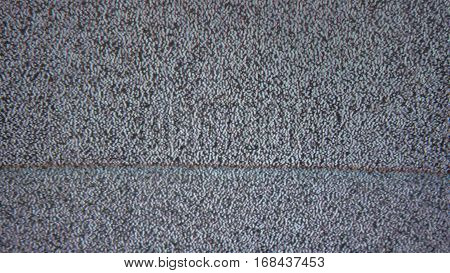 bad tv signal noise interference screen television
