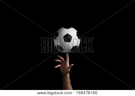 Rotation Of A Soccer Ball