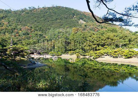 Japanese garden, Ritsurin Garden