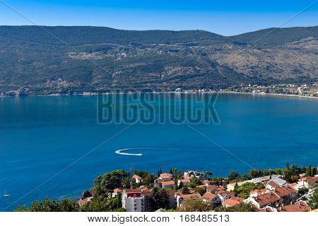 Kotor bay, Herceg Novi town, Montenegro, Balkan, Europe