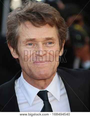 Willem Defoe attends the 'Graduation (Bacalaureat)' Premiere during the 69th annual Cannes Film Festival at the Palais des Festivals on May 19, 2016 in Cannes, France.