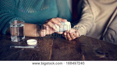 Pill Disease Illness Medical Sick Virus Symptoms