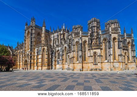 Batalha Monastery - Portugal - architecture background