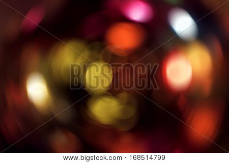 Abstract Light Blur Spin Background
