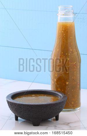 Vintage Styling Tomatillo Sauce