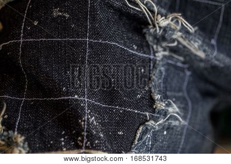Fashion jeans patchwork ,patchwork texture, patchwork fabric pattern