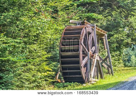 Waterwheels have been used to generate power since the fifteenth century