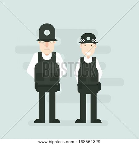 British police officers