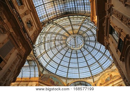 Gallery Dedicated To Vittorio Emanuele Ii King Of Italy With A G