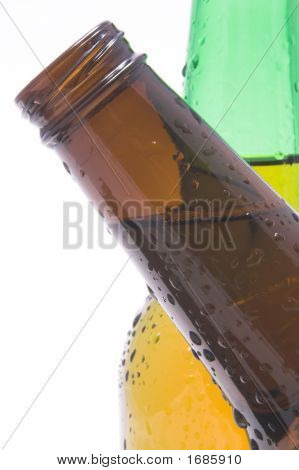 Crossing Beer Bottles