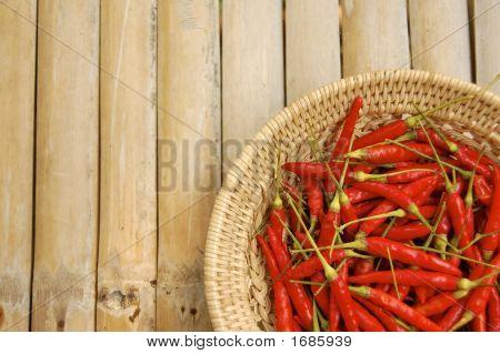 Thai Chili Background
