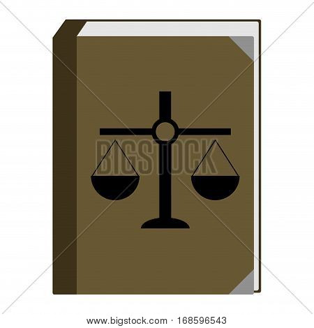 Constitution of book of laws. Authority government rule vector illustration