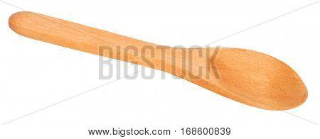 Brown wooden spoon vintage
