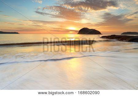 Sunrise Middle Head Beach