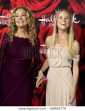 LOS ANGELES - JAN 14:  Kathie Lee GIfford, Cassidy Gifford at the Hallmark TCA Winter 2017 Party at Rose Parade Tournament House  on January 14, 2017 in Pasadena, CA