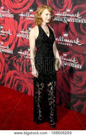 LOS ANGELES - JAN 14:  Alicia Witt at the Hallmark TCA Winter 2017 Party at Rose Parade Tournament House  on January 14, 2017 in Pasadena, CA