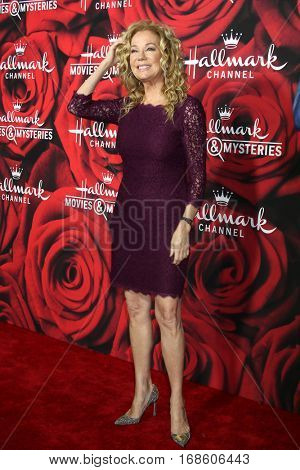 LOS ANGELES - JAN 14:  Kathie Lee GIfford at the Hallmark TCA Winter 2017 Party at Rose Parade Tournament House  on January 14, 2017 in Pasadena, CA