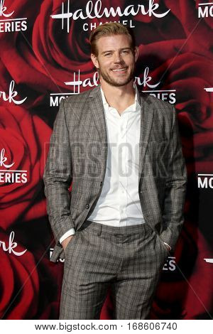 LOS ANGELES - JAN 14:  Trevor Donovan at the Hallmark TCA Winter 2017 Party at Rose Parade Tournament House  on January 14, 2017 in Pasadena, CA