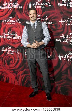 LOS ANGELES - JAN 14:  Brendan Penny at the Hallmark TCA Winter 2017 Party at Rose Parade Tournament House  on January 14, 2017 in Pasadena, CA