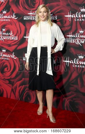 LOS ANGELES - JAN 14:  Stefanie von Pfetten at the Hallmark TCA Winter 2017 Party at Rose Parade Tournament House  on January 14, 2017 in Pasadena, CA