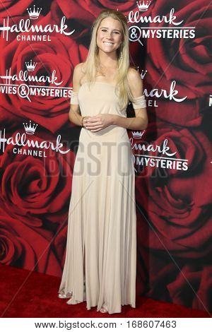 LOS ANGELES - JAN 14:  Cassidy Gifford at the Hallmark TCA Winter 2017 Party at Rose Parade Tournament House  on January 14, 2017 in Pasadena, CA
