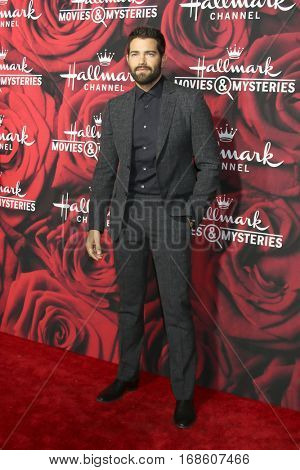 LOS ANGELES - JAN 14:  Jesse Metcalfe at the Hallmark TCA Winter 2017 Party at Rose Parade Tournament House  on January 14, 2017 in Pasadena, CA