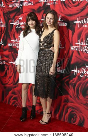 LOS ANGELES - JAN 14:  Bailee Madison, Kaitlin Riley at the Hallmark TCA Winter 2017 Party at Rose Parade Tournament House  on January 14, 2017 in Pasadena, CA