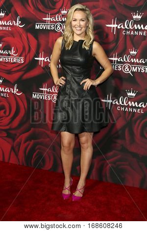 LOS ANGELES - JAN 14:  Emilie Ullerup at the Hallmark TCA Winter 2017 Party at Rose Parade Tournament House  on January 14, 2017 in Pasadena, CA