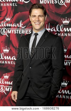 LOS ANGELES - JAN 14:  Sam Page at the Hallmark TCA Winter 2017 Party at Rose Parade Tournament House  on January 14, 2017 in Pasadena, CA