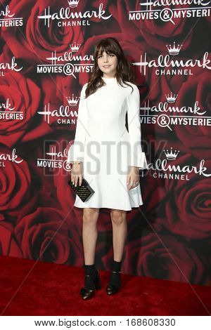 LOS ANGELES - JAN 14:  Bailee Madison at the Hallmark TCA Winter 2017 Party at Rose Parade Tournament House  on January 14, 2017 in Pasadena, CA