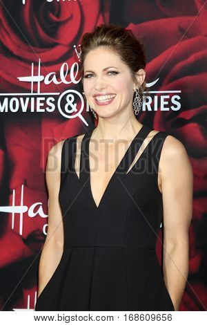 LOS ANGELES - JAN 14:  Pascale Hutton at the Hallmark TCA Winter 2017 Party at Rose Parade Tournament House  on January 14, 2017 in Pasadena, CA