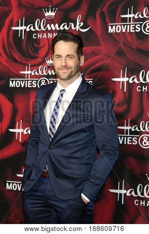 LOS ANGELES - JAN 14:  Niall Matter at the Hallmark TCA Winter 2017 Party at Rose Parade Tournament House  on January 14, 2017 in Pasadena, CA
