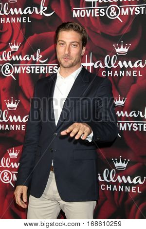 LOS ANGELES - JAN 14:  Daniel Lissing at the Hallmark TCA Winter 2017 Party at Rose Parade Tournament House  on January 14, 2017 in Pasadena, CA