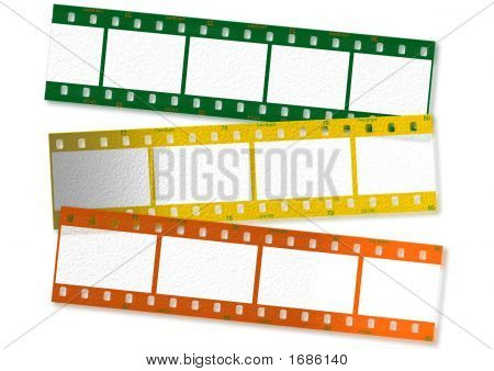 35 Mm Film Stripes