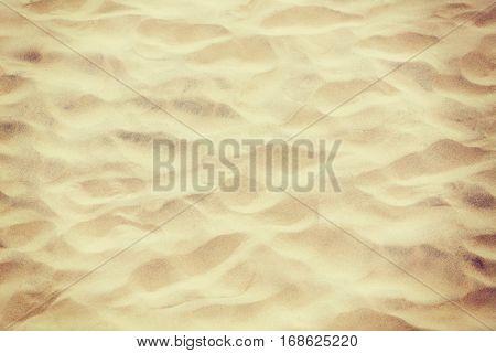 Closeup photo of white sand