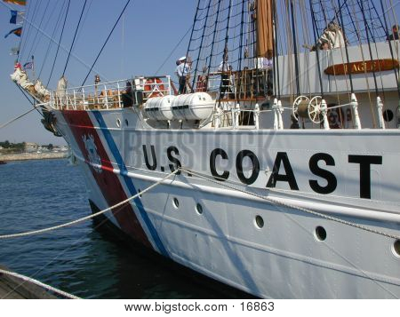 USCG Eagle Bow