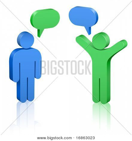 Social Media. Communication Concept.