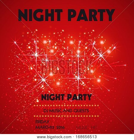 Night Club Disco Party easy all editable