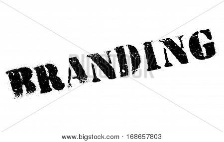 Branding stamp. Grunge design with dust scratches. Effects can be easily removed for a clean, crisp look. Color is easily changed.